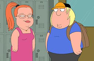 Family Guy and Sarah Palin