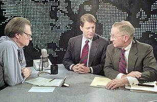 Al Gore and Ross Perot Debate NAFTA