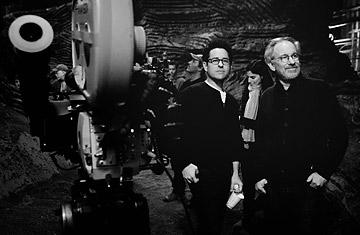 J.J. Abrams and Steven Spielberg