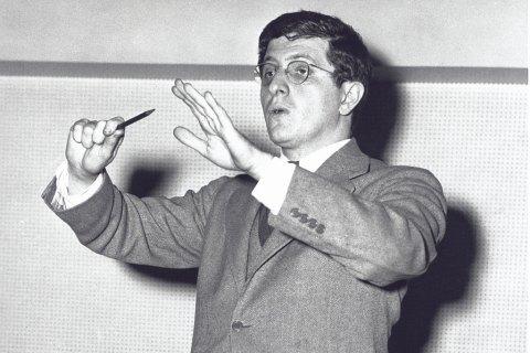 Film composer Bernard Herrmann