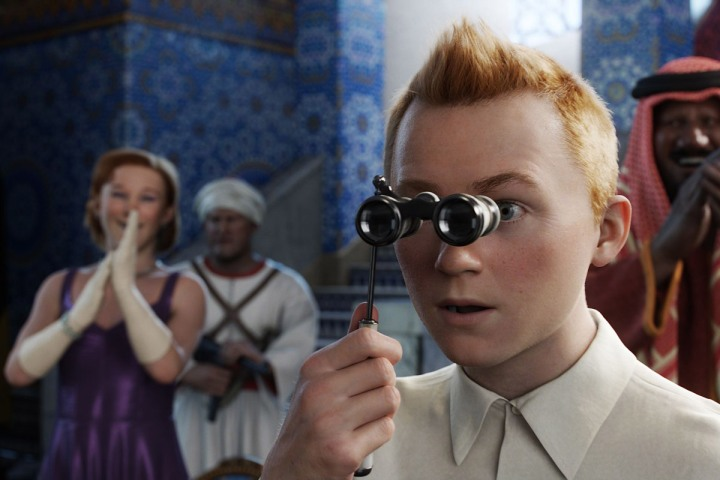 Tintin' Review: 3-D Adventure Exhaustively Entertaining | TIME.com