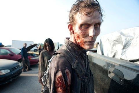 Zombies from Season 2 of The Walking Dead