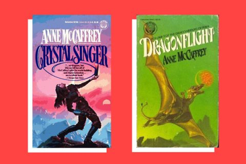 Anne McCaffrey Book Covers