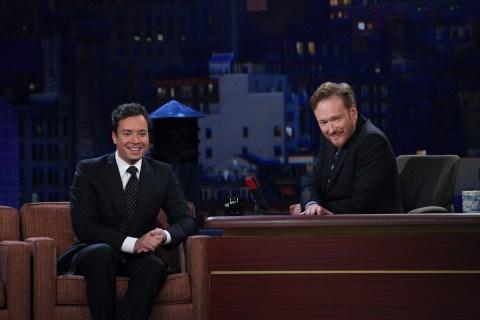 Conan Jimmy Fallon