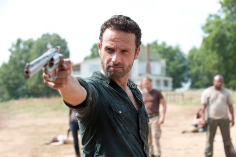 Rick Grimes (Andrew Lincoln) - The Walking Dead - Season 2, Episode 7