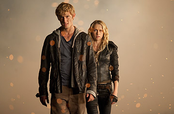 John aka Number Four (Alex Pettyfer) and Number Six (Teresa Palmer) narrowly escape the wrath of their enemies in the suspense thriller I Am Number Four