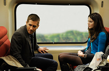 Jake Gyllenhall and Michelle Monaghan in Source Code