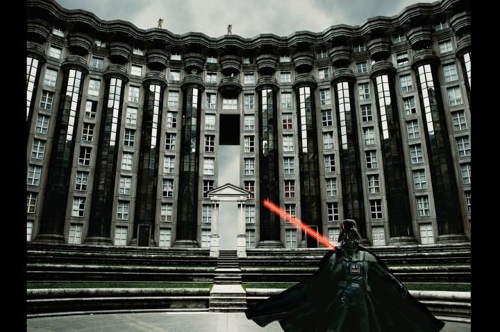 Darth Vader, Paris