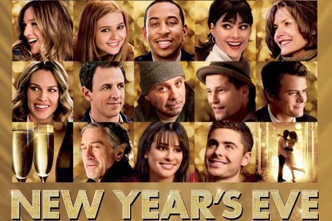 New Year's Eve Poster Horizontal