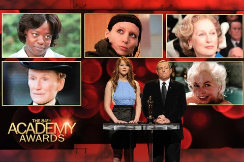 Academy Awards Nominations 2012
