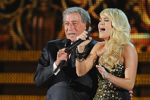 Tony Bennett and Carrie Underwood, Grammys 2012