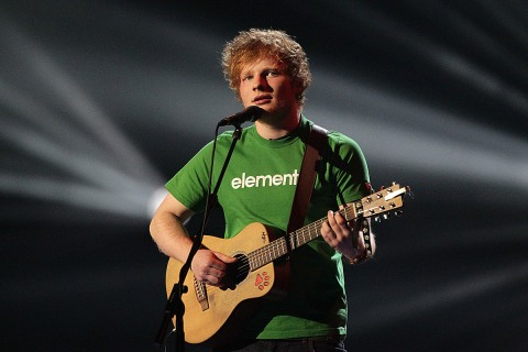 Brit Awards Ed Sheeran