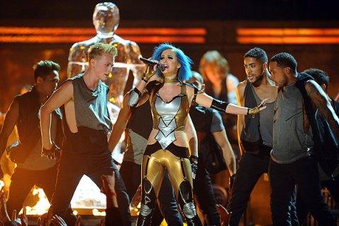 Katy Perry, Grammys 2012