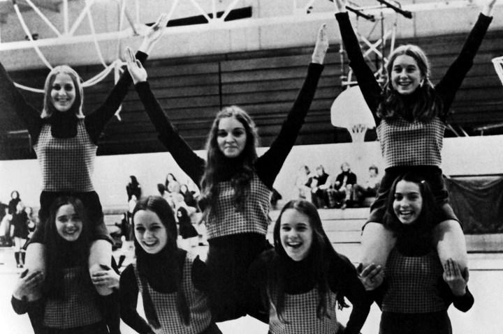 Madonna the Cheerleader