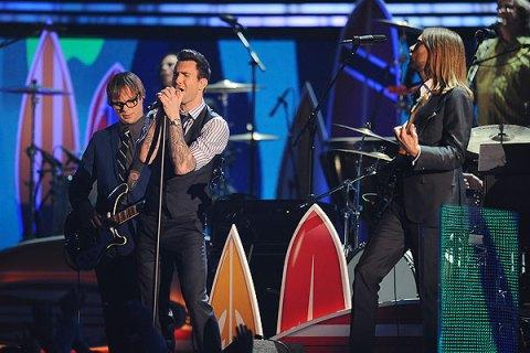 Maroon 5, Grammys 2012