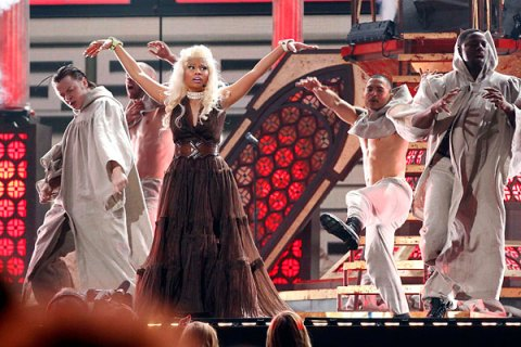 Nicki Minaj, Grammys 2012