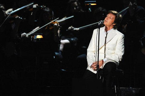 Paul McCartney, Grammys 2012