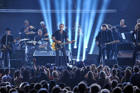 Springsteen, Grammys 2012