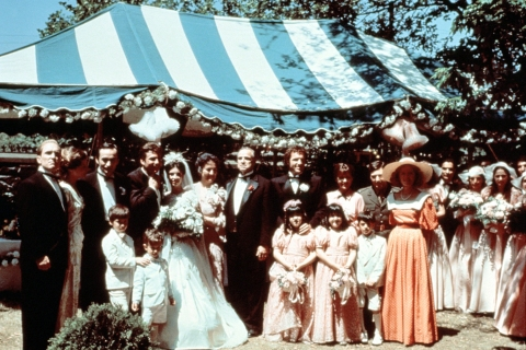 The Wedding Photo from The Godfather