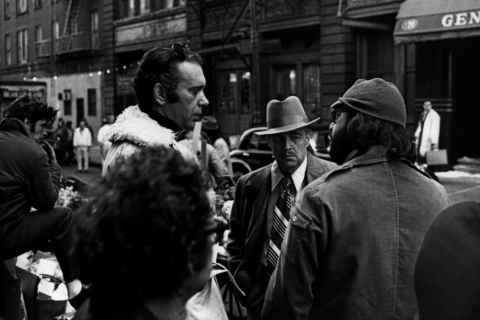 Ruddy, Brando and Coppola on the Set of The Godfather