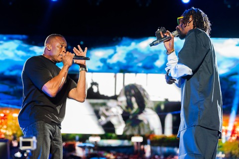Dr. Dre Snoop Dog Coachella Week 1