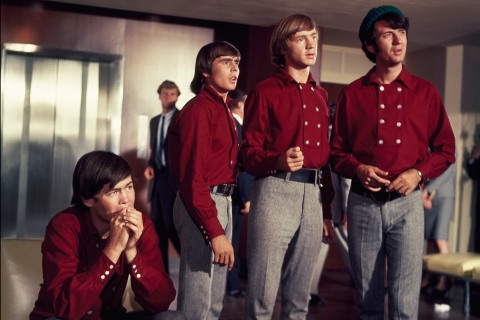 The Monkees in Matching Red