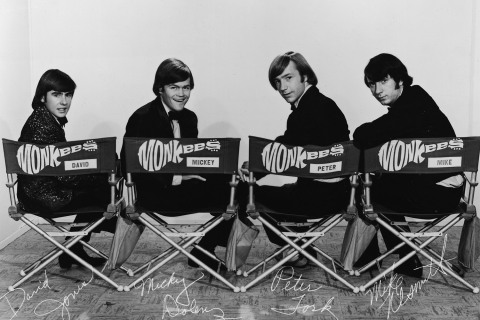 The Monkees in Tuxedos
