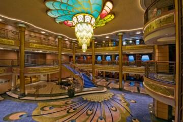 Disney Fantasy Atrium Lobby
