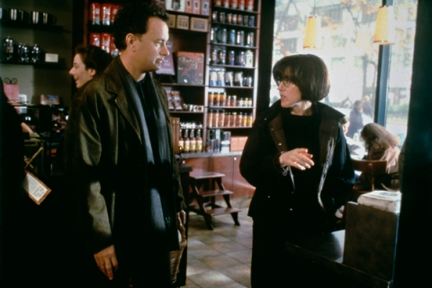 Nora Ephron and Tom Hanks