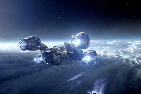 Prometheus Spaceship