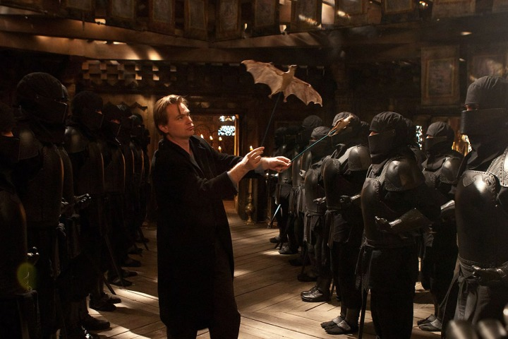 Christopher Nolan Gets Hands-On