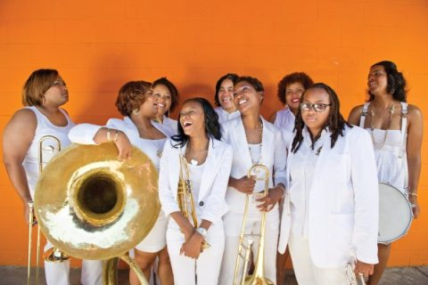 The Original Pinettes Brass Band - Essence Fest