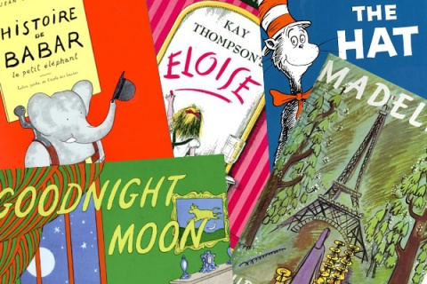 Children's Books Collage