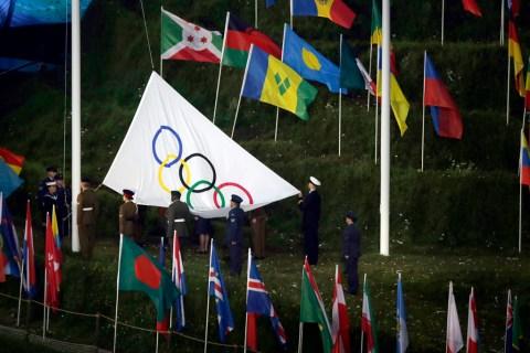 Populist - 1 - Olympic flag