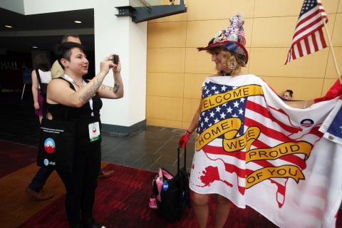 Democratic National Convention, Comic Con