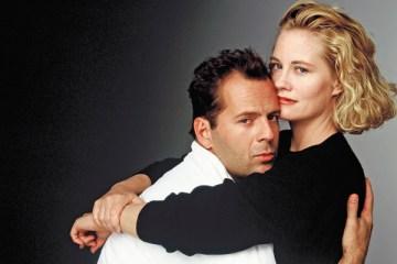 Bruce Willis as David and Cybill Shepherd as Maddie on Moonlighting