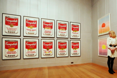 """Andy Warhol's """"Campbell's Soup II"""" (1969)"""