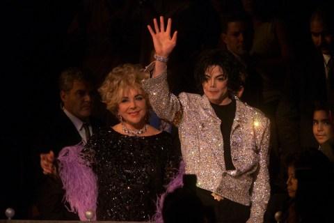 Image: Michael Jackson and Elizabeth Taylor
