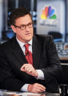 "Joe Scarborough, Host, MSNBC's ""Morning Joe"" appears on ""Meet the Press"" in Washington D.C., Sunday, Sept. 23, 2012."