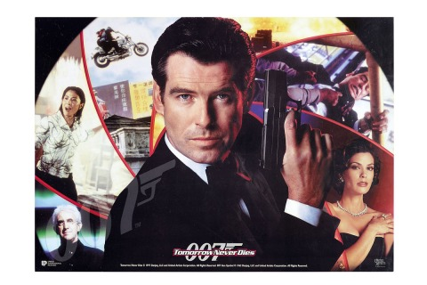 Tomorrow Never Dies 1997 James Bond Movie Posters From Around The World Time Com