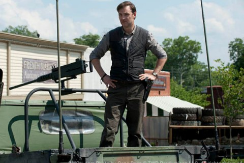 The Governor (David Morrissey) in Season 3, Episode 3 of The Walking Dead