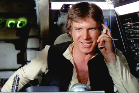 Populist: Han Solo laughing