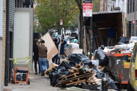 Image: Chelsea after Superstorm Sandy