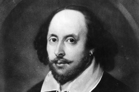 Homepage Image: William Shakespeare