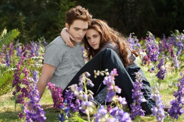 Robert Pattinson and Kristen Stewart in 'The Twilight Saga: Breaking Dawn - Part 2'