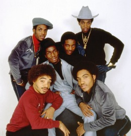 Portrait of Grandmaster Flash and the Furious Five, New York, 1984.
