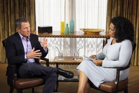 Image: Lance Armstrong, Oprah Winfrey