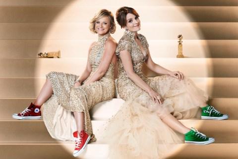 Image: Tina Fey and Amy Poehler, The Golden Globes Awards