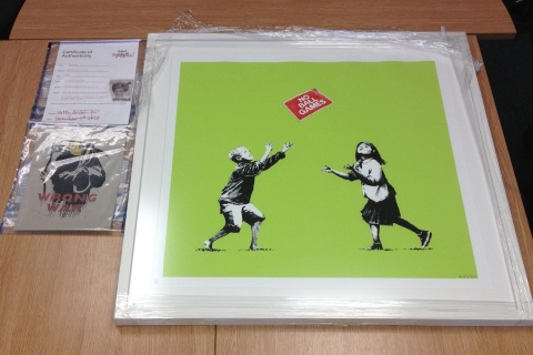 Image: Banksy artwork recovered