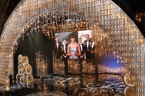 Image: Michelle Obama Oscars Presentation